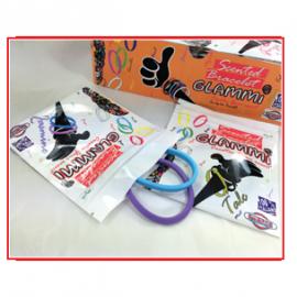Save fragrances ZIP bags cm 11 x 13,5 with scent identification (2 bracelets x bag)