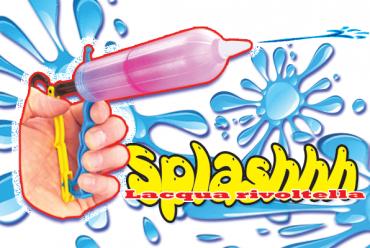 SPLASHHH the water gun