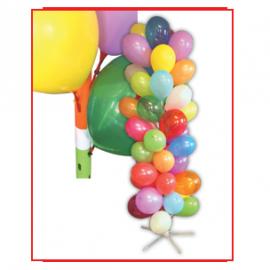 T-45 TOTEM x 51 latex balloons