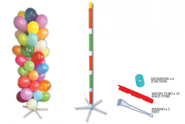 TOTEM T-45 for 51 balloons with stick